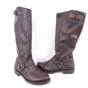 Frye Calf Boots Veronica Slouch 2 Size 6